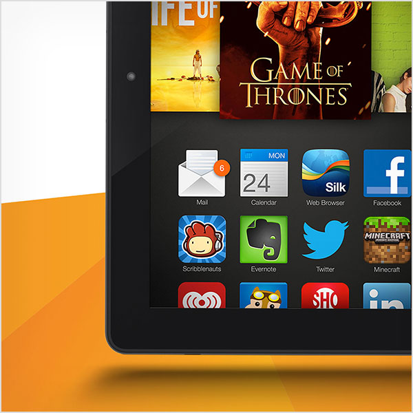Kindle Fire HDX Announcement Email