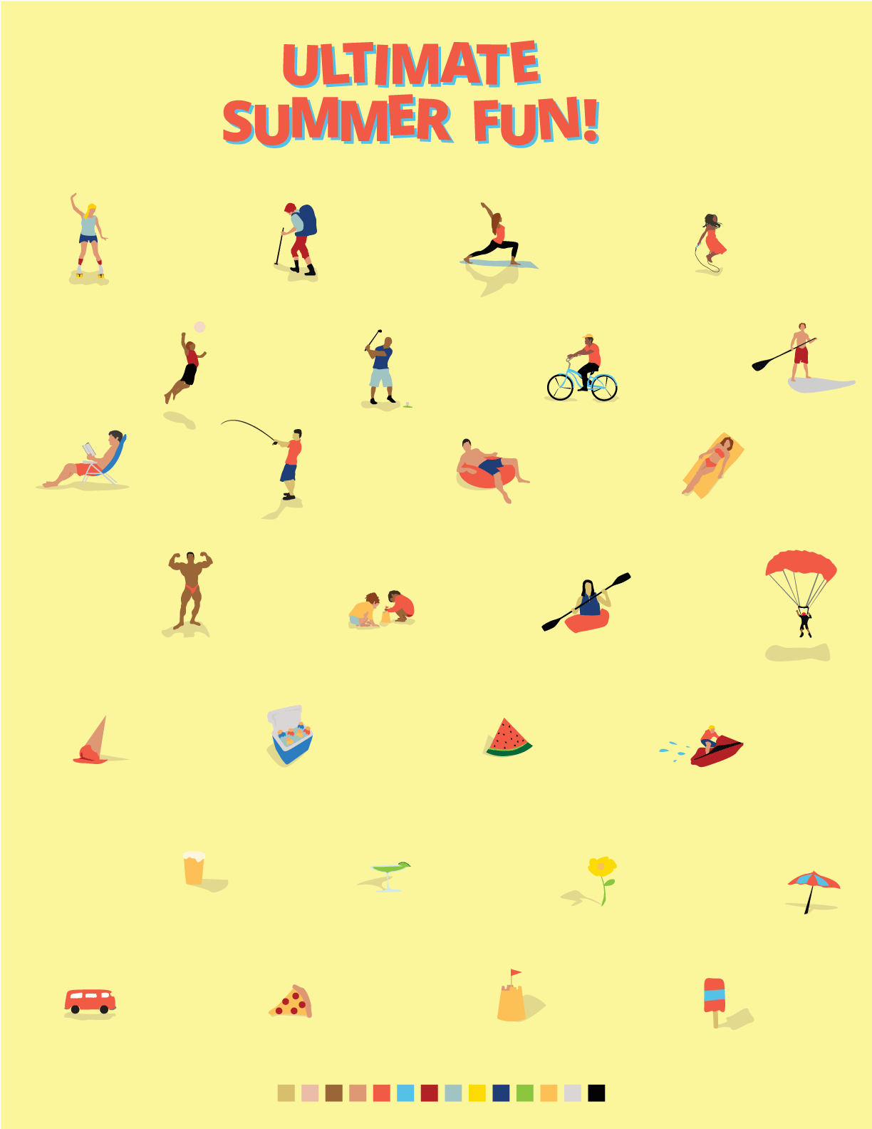 UltimateSummerFun_Illustrations