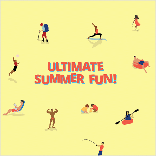 Groupon Ultimate Summer Fun Campaign