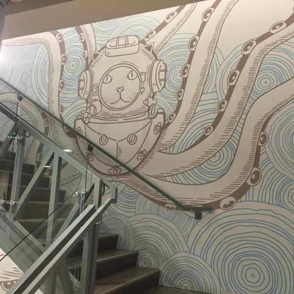 Groupon Office Murals