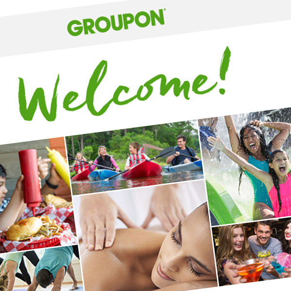 Groupon Welcome Email Redesign