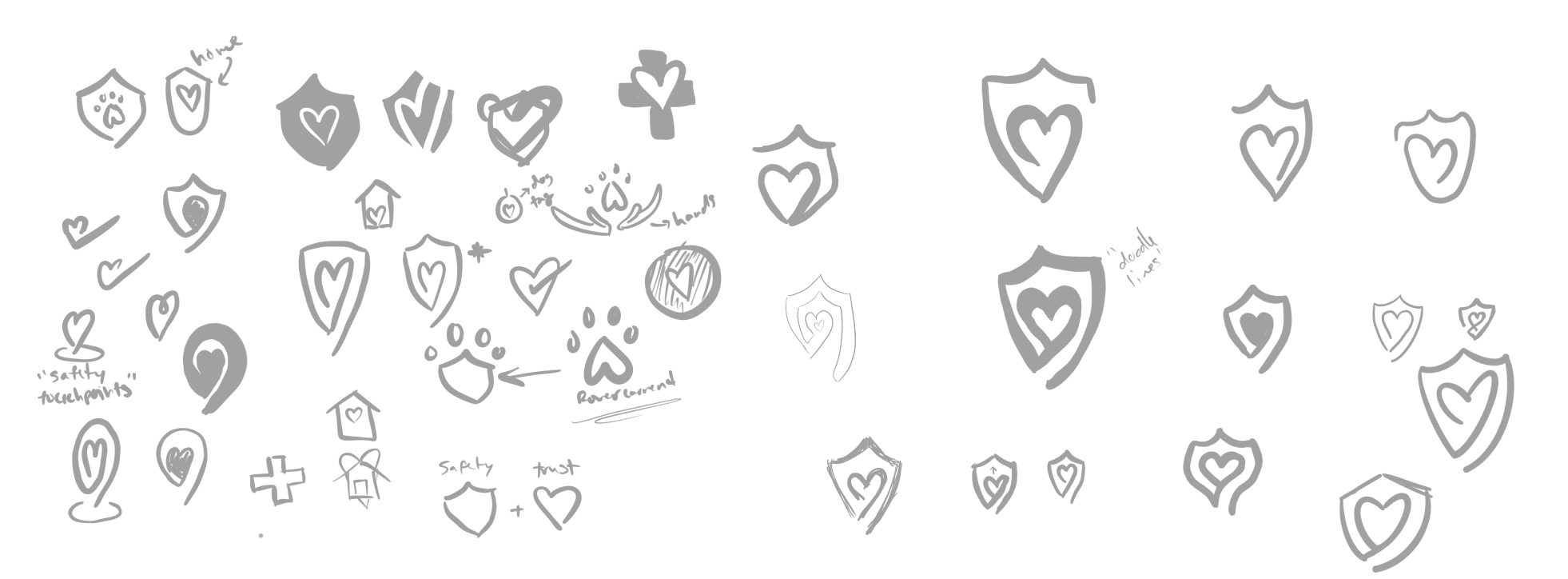Trust & Safety Sketches